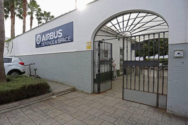 Sala de frío en Airbus Military Sevilla